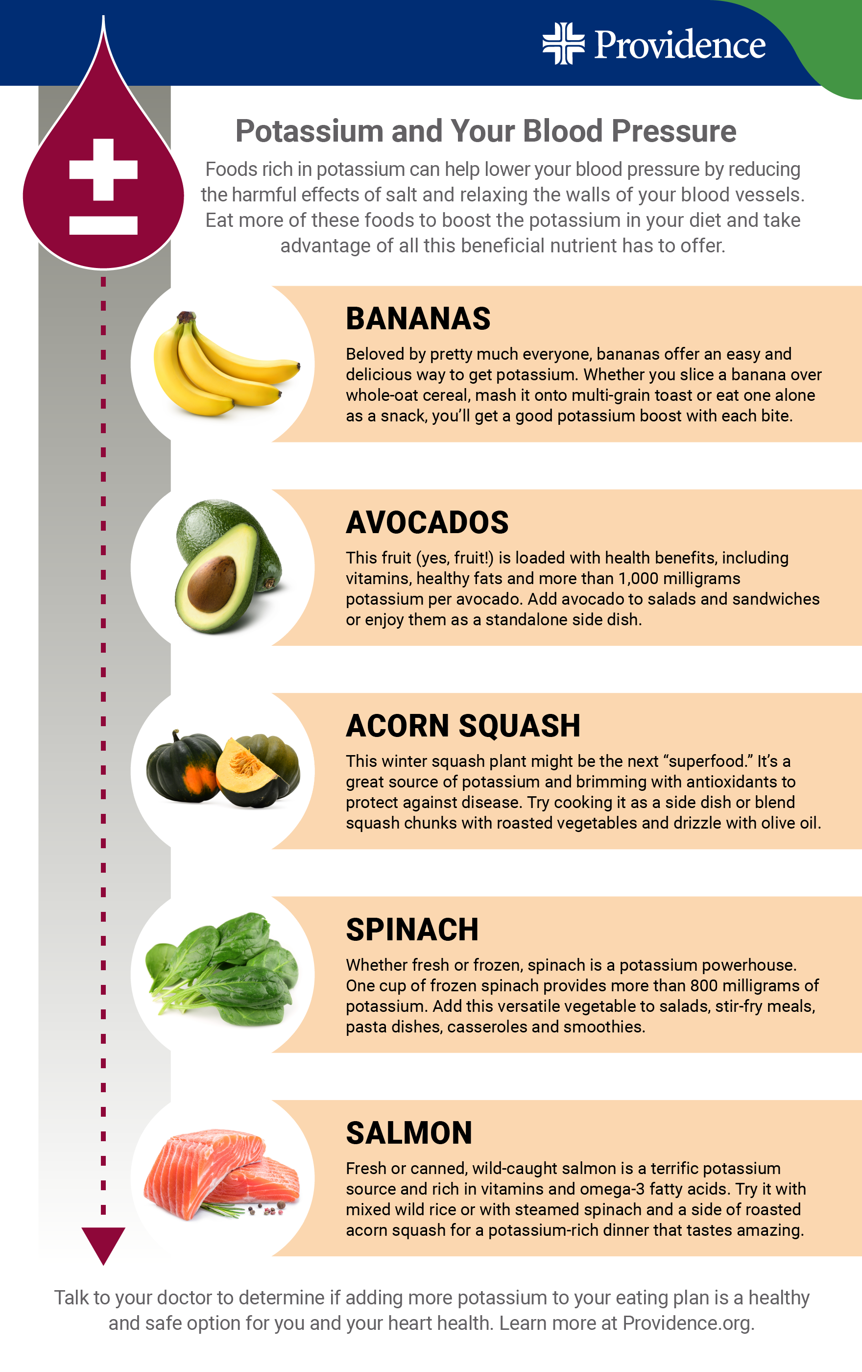 20 foods rich in potassium to help reduce high blood pressure
