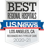 US News & World Report Best Regional Hospitals: Los Angeles Recognized in 5 Types of Care 2020-2021