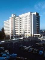 Sacred Heart Medical Center's main patient tower was completed and dedicated on October 21, 1971.