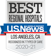 US News & World Report Best Regional Hospitals in Los Angeles for 7 Types of Care, 2020-21