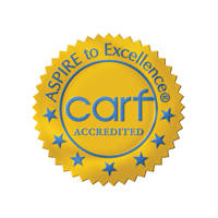 CARF Accredited Badge
