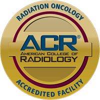 Radiation Oncology Accredited Facility Seal