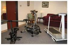 Assisted living exercise room