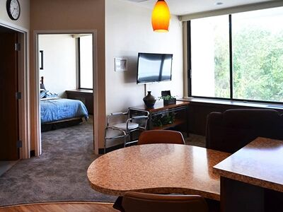 interior view of independent living apartment