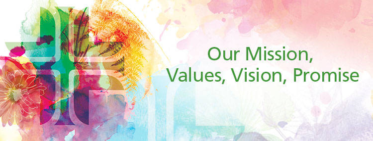 Our Mission, Values, Vision, and Promise