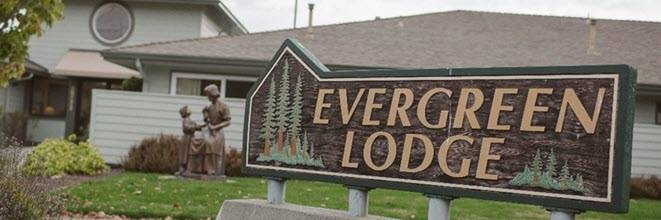 Evergreen Lodge Outdoor Sign
