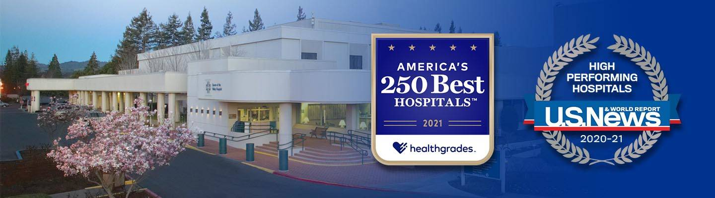 Queen of the Valley was names one of Healthgrades' America's 250 Best Hospitals 2021 and U.S. News & World Report High Performing Hospital 2020-21