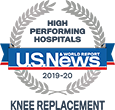 U.S. News High Performing Hospital - Knee Replacement