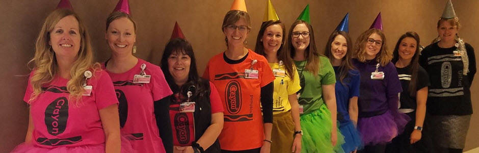 Child Life Specialists as Crayons