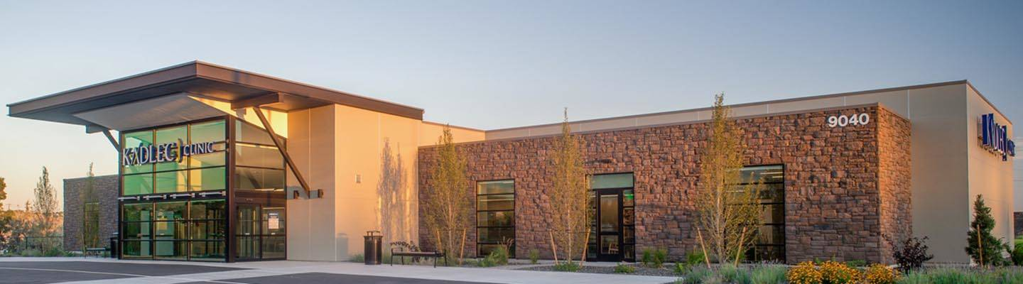 Exterior of Kadlec Urgent Care West Kennewick