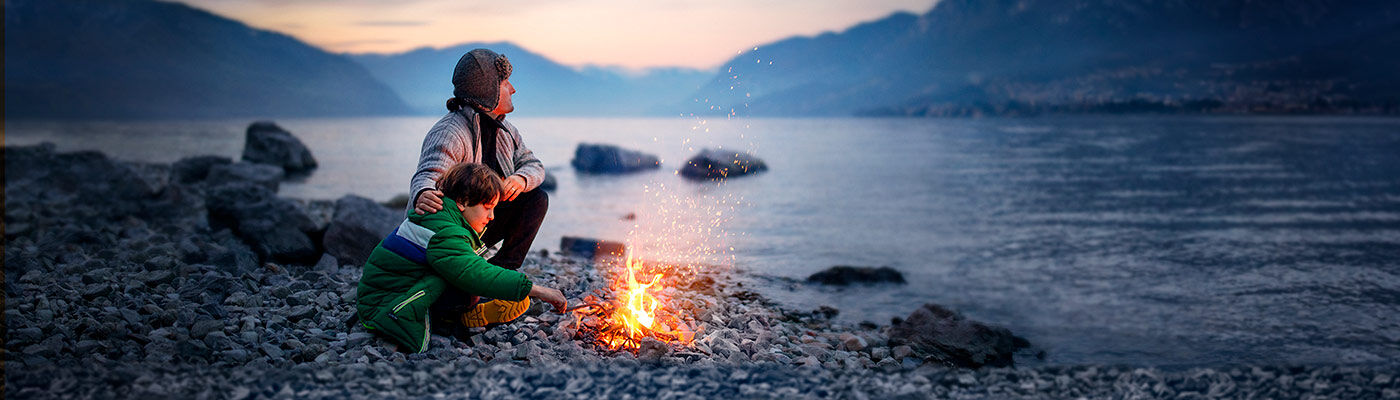father-and-son-by-campfire