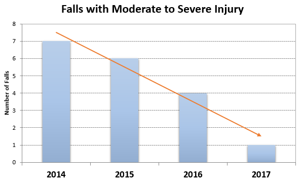 Fall Prevention Chart 2017